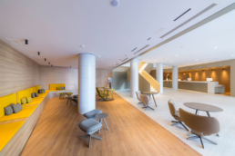 Fotografía de interior del Hotel Maciá Sevilla Kubb